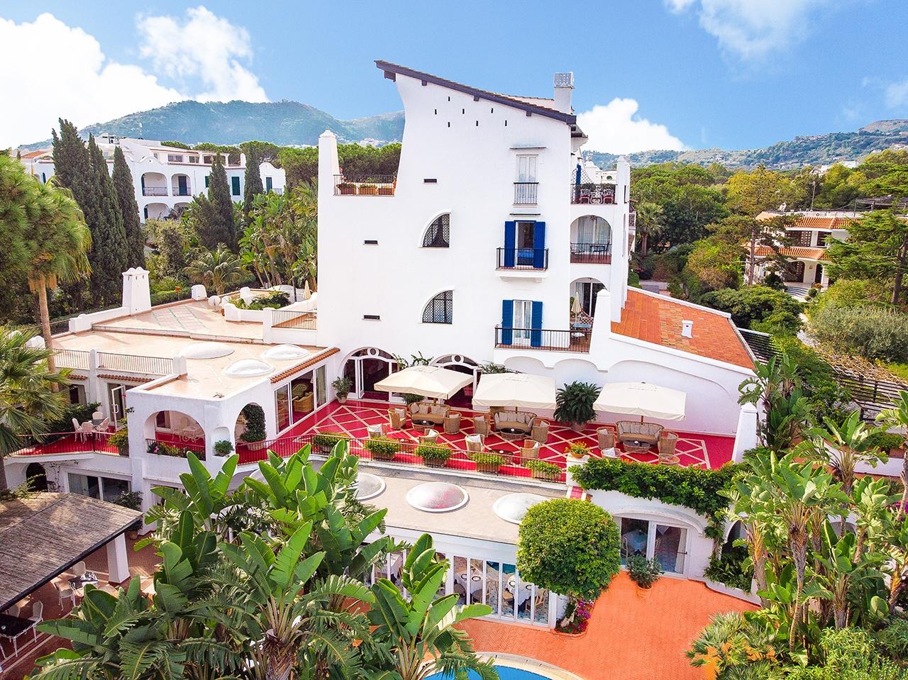 Vista aerea Il Moresco Hotel & Spa Ischia